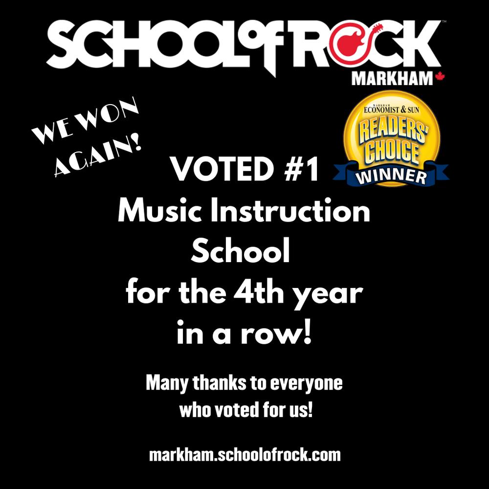 School of Rock Markham