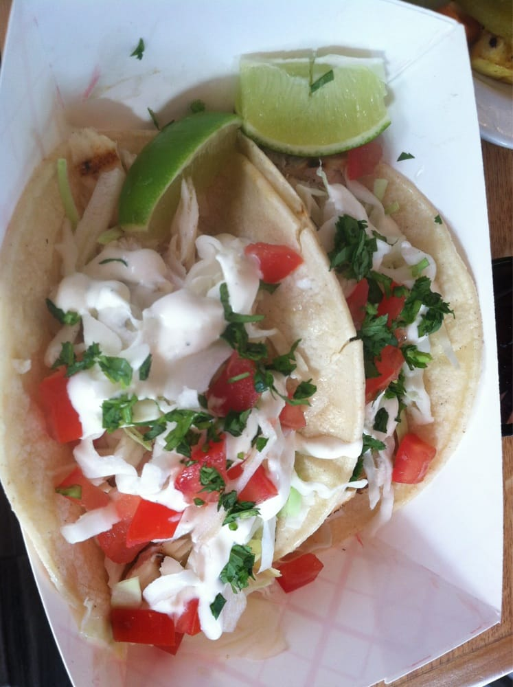 Grilled fish taco quality fish hidden under the fixins for Seasalt fish grill