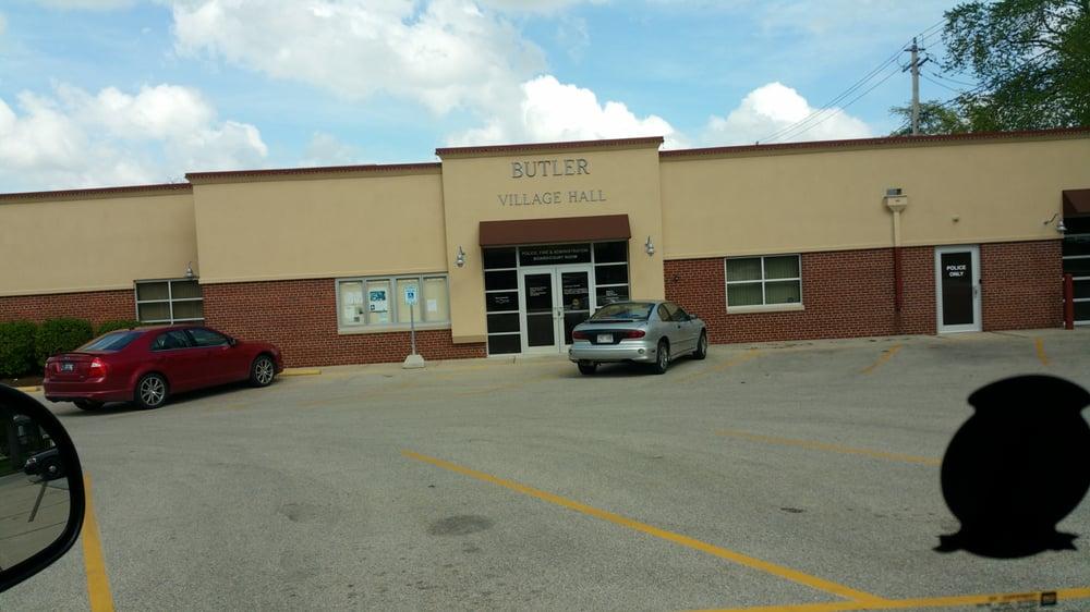 Village of Butler Police Department: 12621 W Hampton Ave, Butler, WI