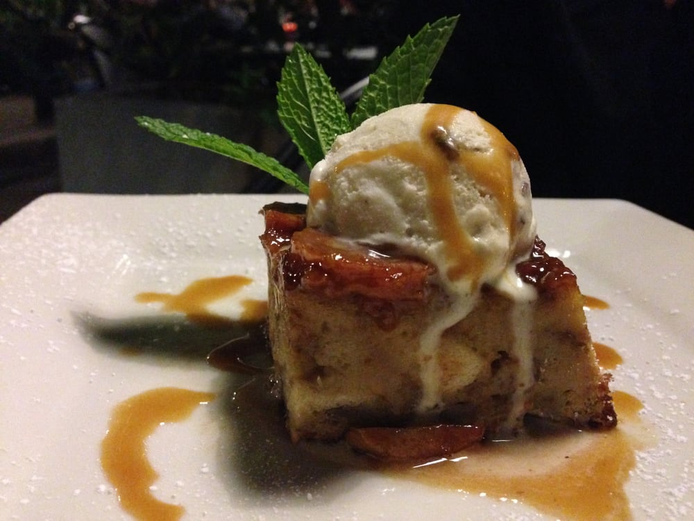banana bread pudding. - Yelp