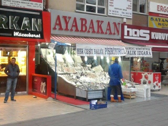 Ayabakan Balık Pişirme Evi: Ragıp Tüzün Cad., Ankara, 06