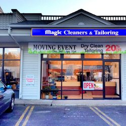 Magic Cleaners & Tailoring - Dry Cleaning - 1366 Post Rd E, Westport