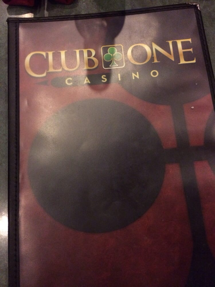 club one casino menü