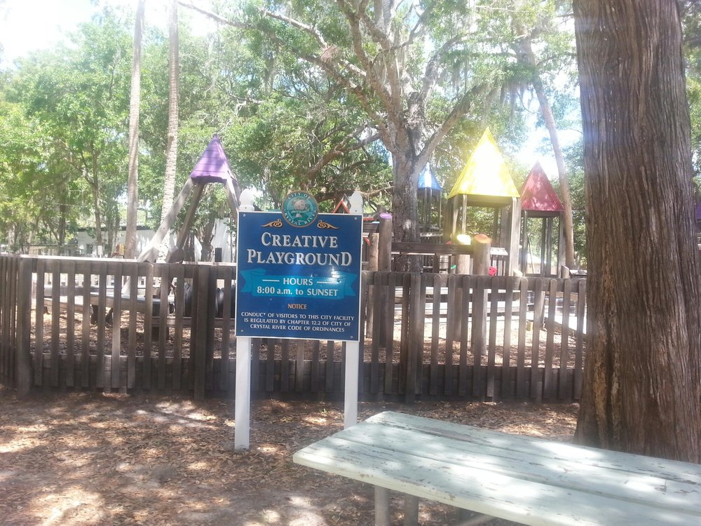 Creative Playground: 698 NW 2nd Ave, Crystal River, FL
