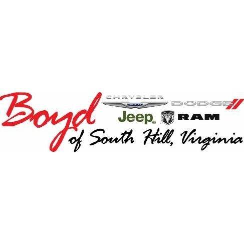Boyd Chrysler Jeep Dodge Ram of South Hill, VA: 200 W Danville St, South Hill, VA