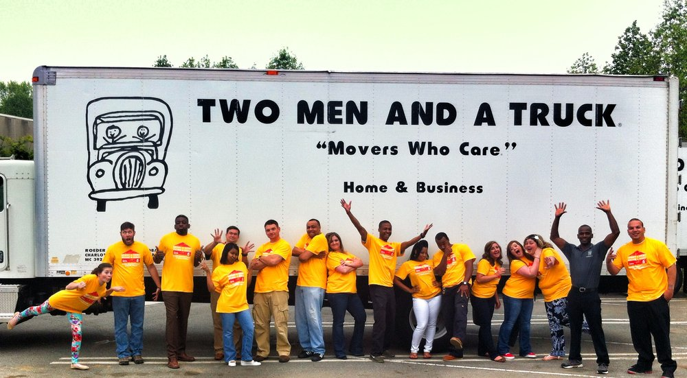 Two Men and a Truck Rock Hill: 2180 Carolina Pl, Fort Mill, SC