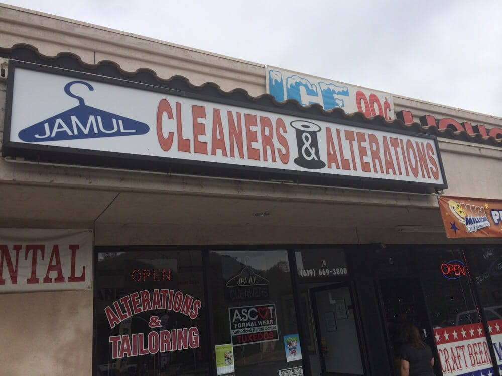 Jamul Cleaners & Alterations