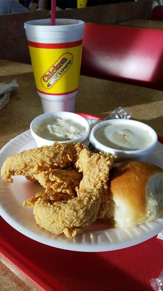 Chicken Express of Alvarado: 704 N Parkway Dr, Alvarado, TX