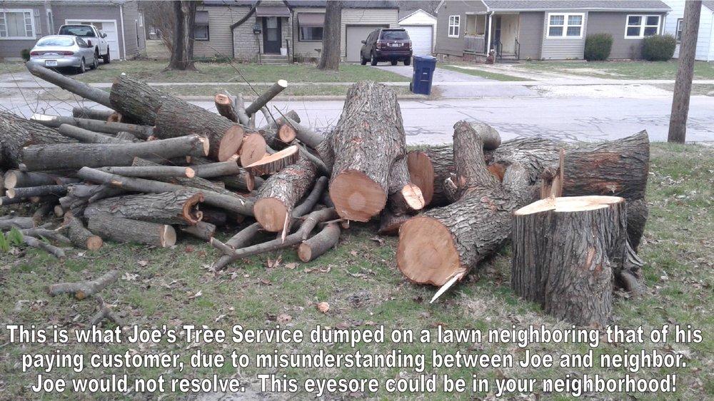 Joe's Tree Service: 400 E Wayland St, Springfield, MO