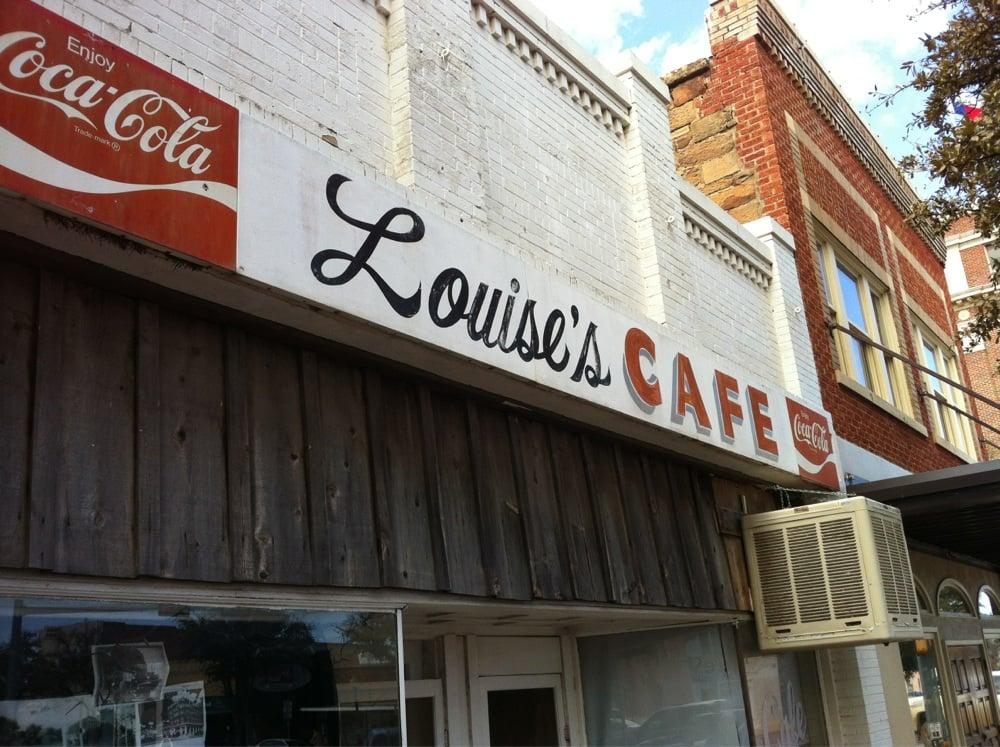 Louise's Cafe: 103 S Lamar St, Eastland, TX