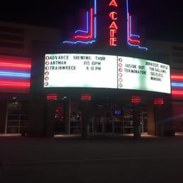Greenbrier Cinema Cafe Menu