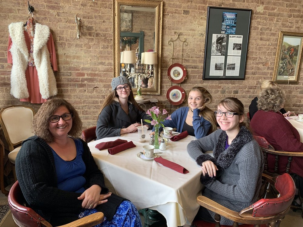 Maggie Mae's Tea Room: 124 Public Sq, Adairsville, GA