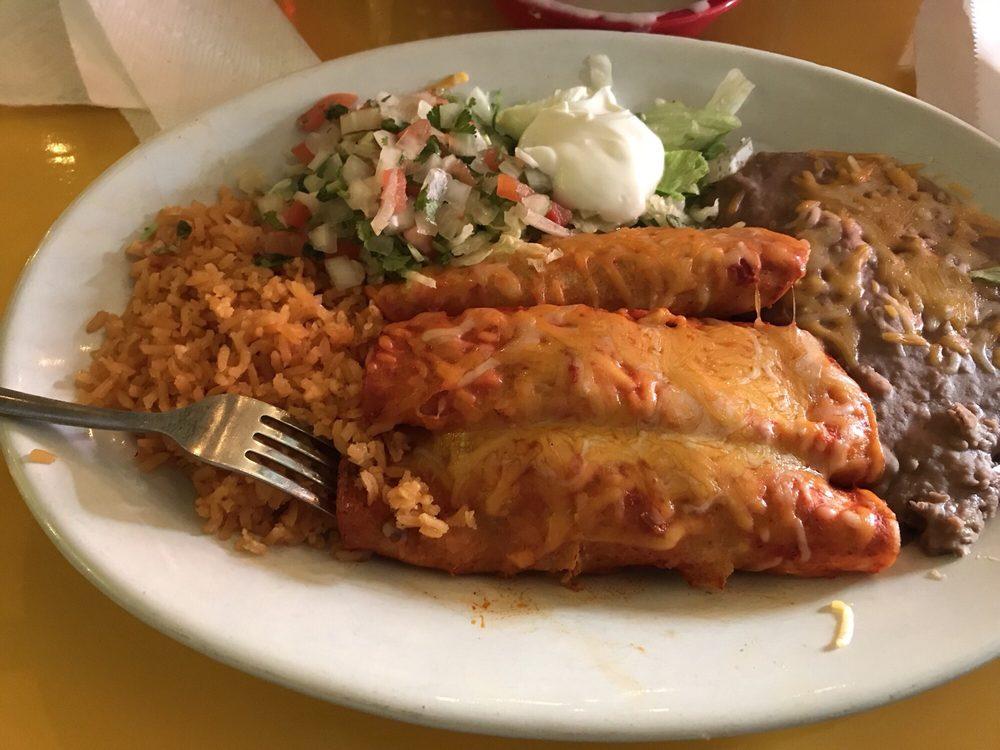 Chicken Enchiladas Red Sauce Yelp