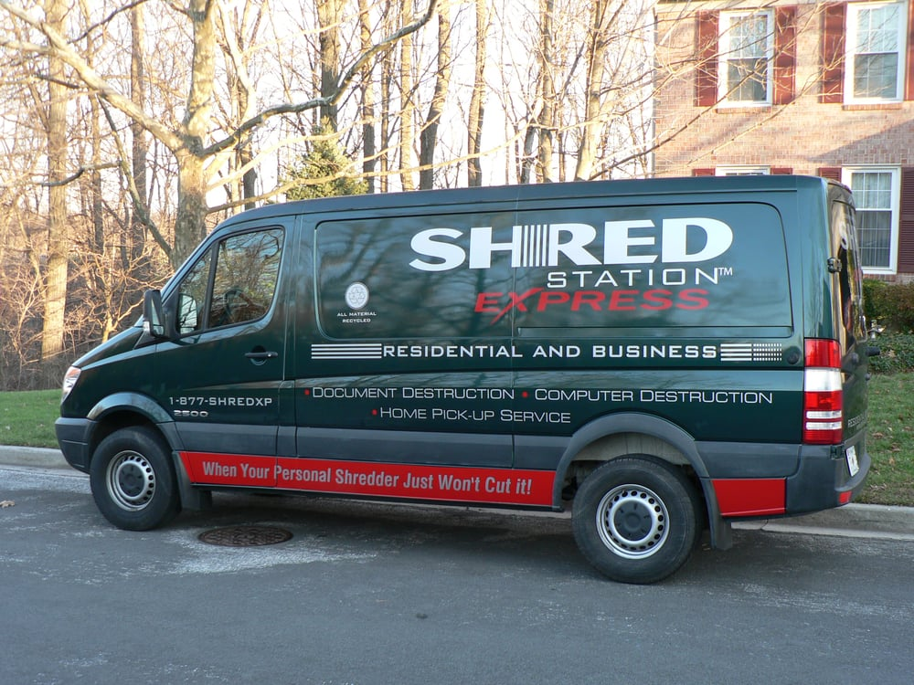 Shred Station Express of Maryland: SIlver Spring, MD