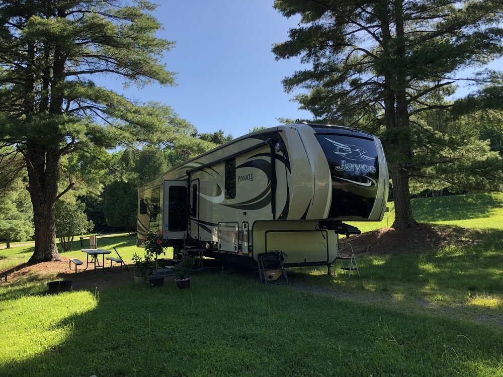 Apostle Islands Area Campground: Trlr Court Rd, Bayfield, WI