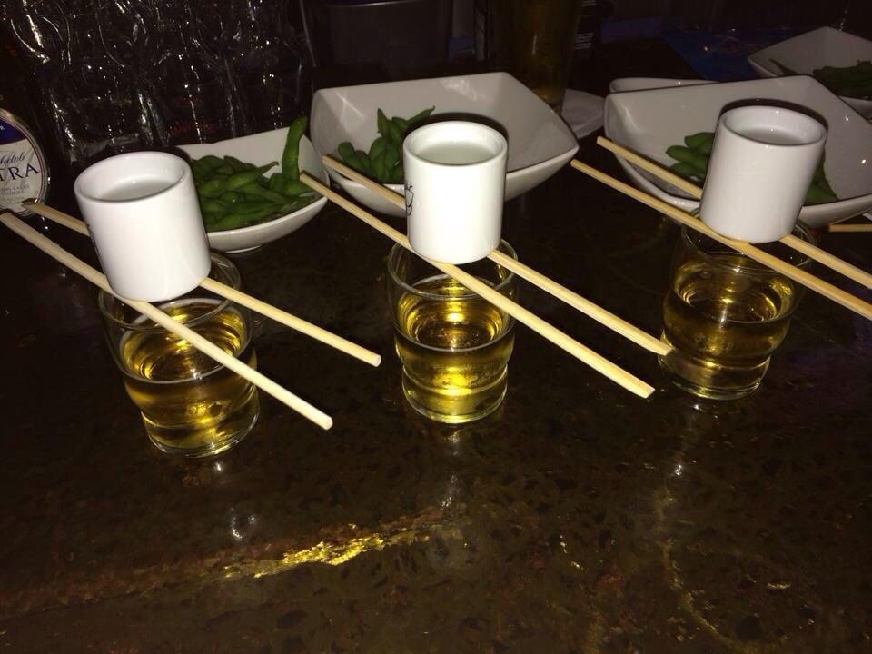 Sake bombs yelp for Blue fish dallas
