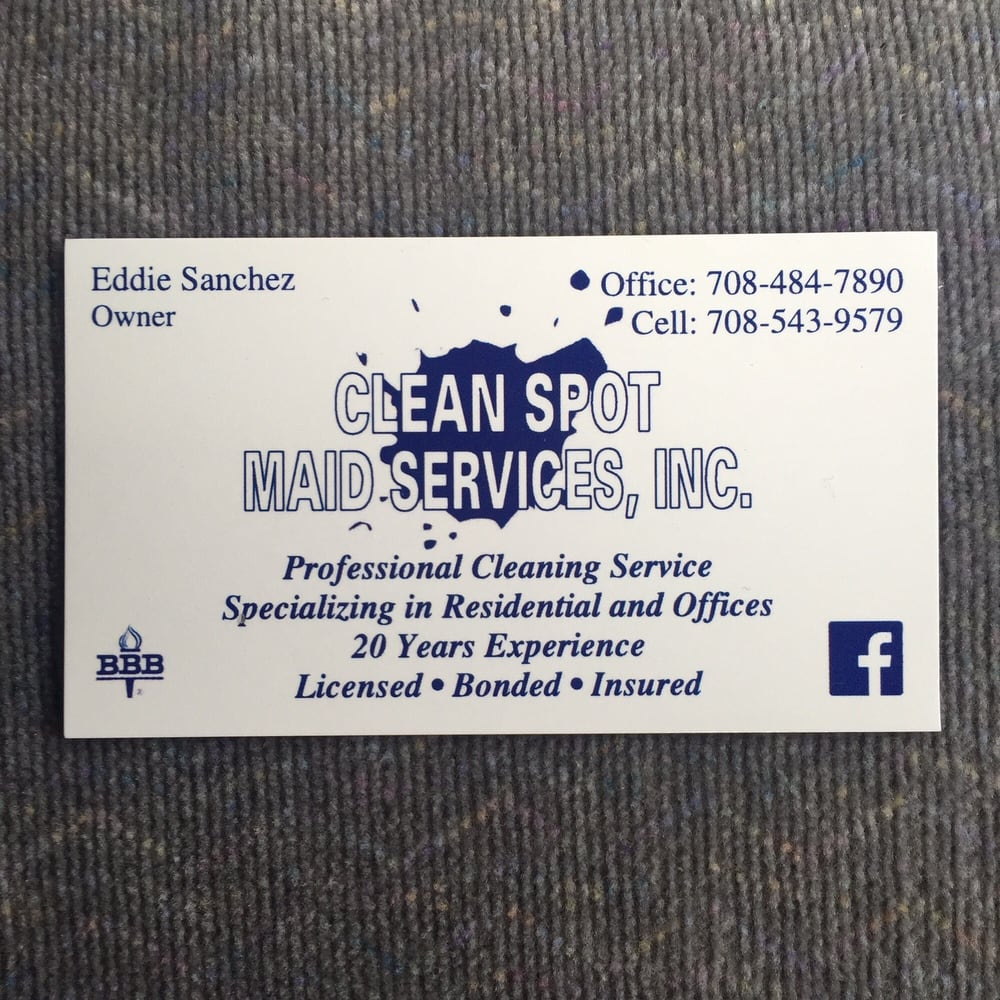 Clean Spot Maid Services: Berwyn, IL