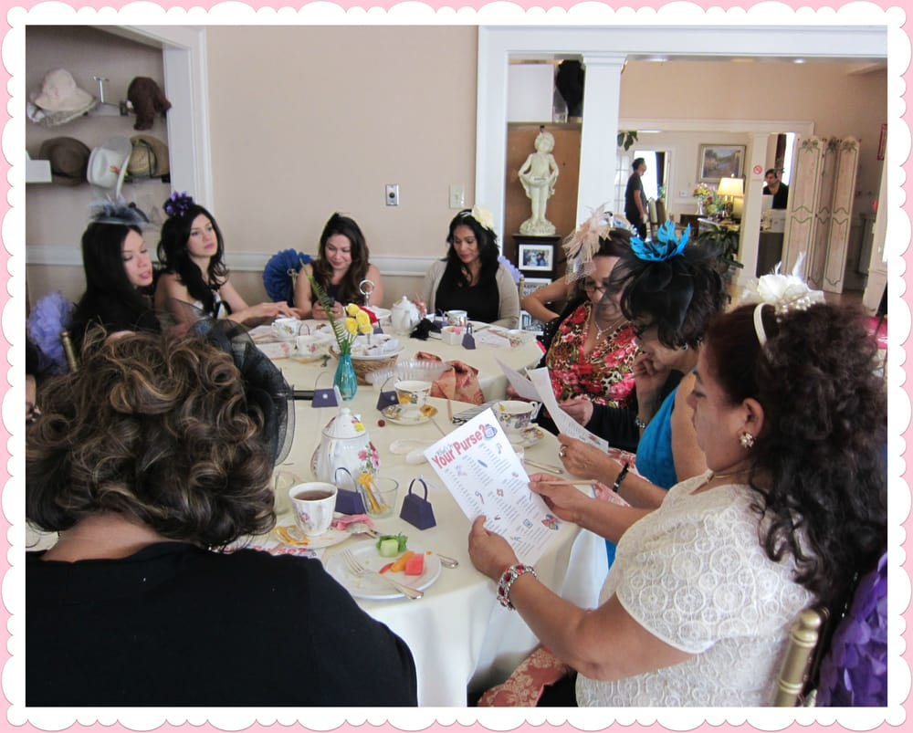 Large Group Playing Bridal Shower Games.