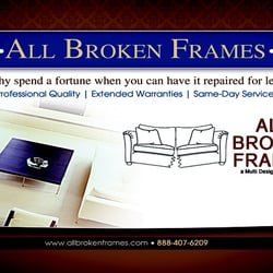 All Broken Frames Free Quote Furniture Repair Downtown