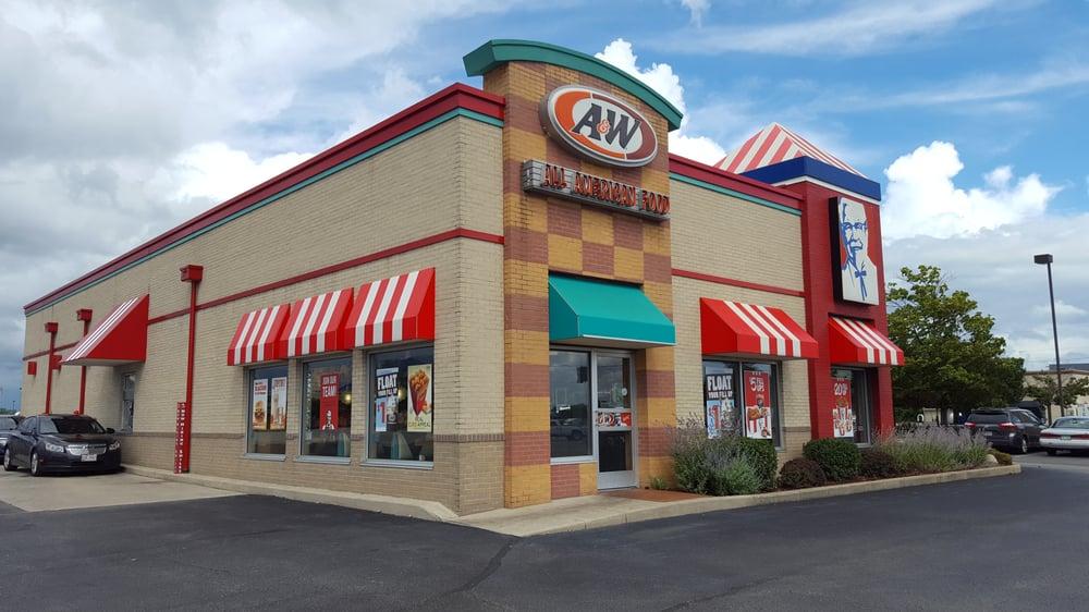 A&W Restaurant: 12394 US Rte 35, Jeffersonville, OH