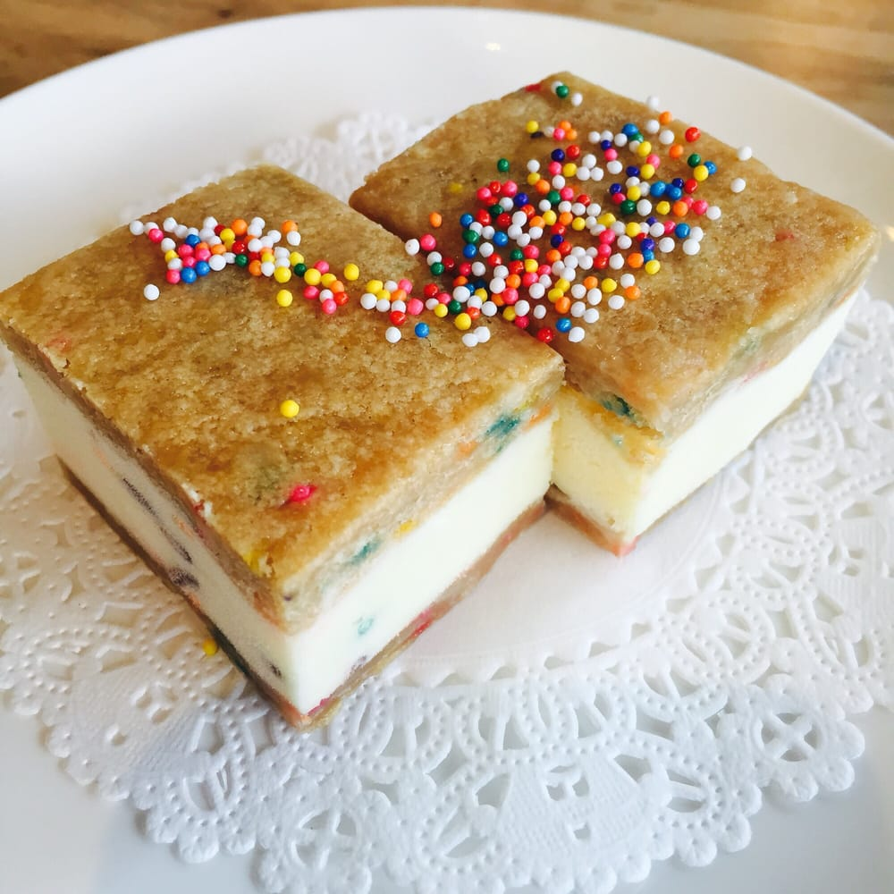 Birthday Cake Ice Cream Sandwich Austin Image Inspiration of Cake