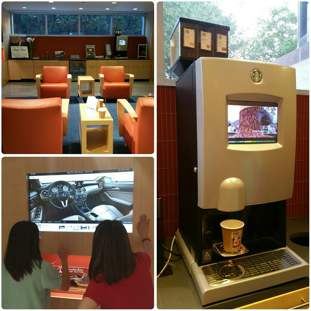 Fresh Brewed Automated Starbucks Coffee Machine In Sales