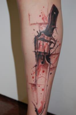 Final Fantasy Master Arms: FF VIII 8 selfer die Gunblade ... |Final Fantasy 8 Gunblade Tattoo