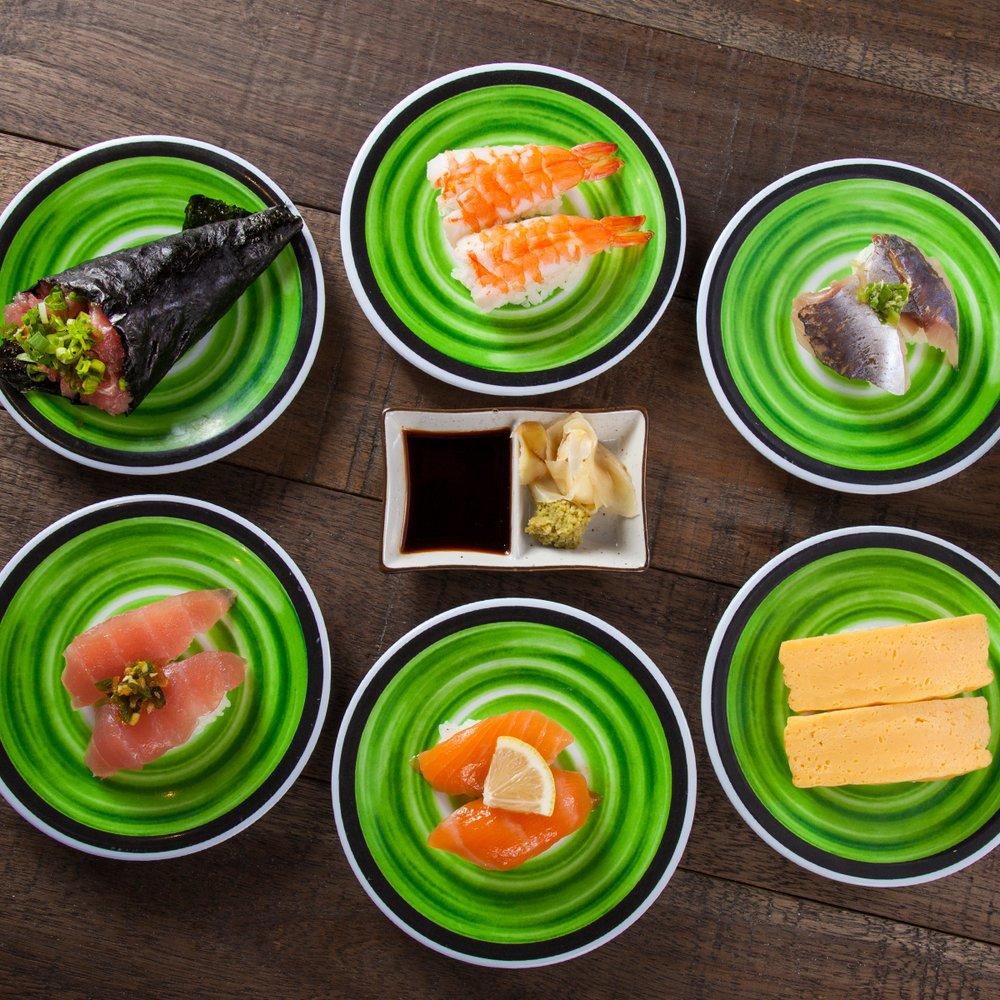 Food from Kura Revolving Sushi Bar
