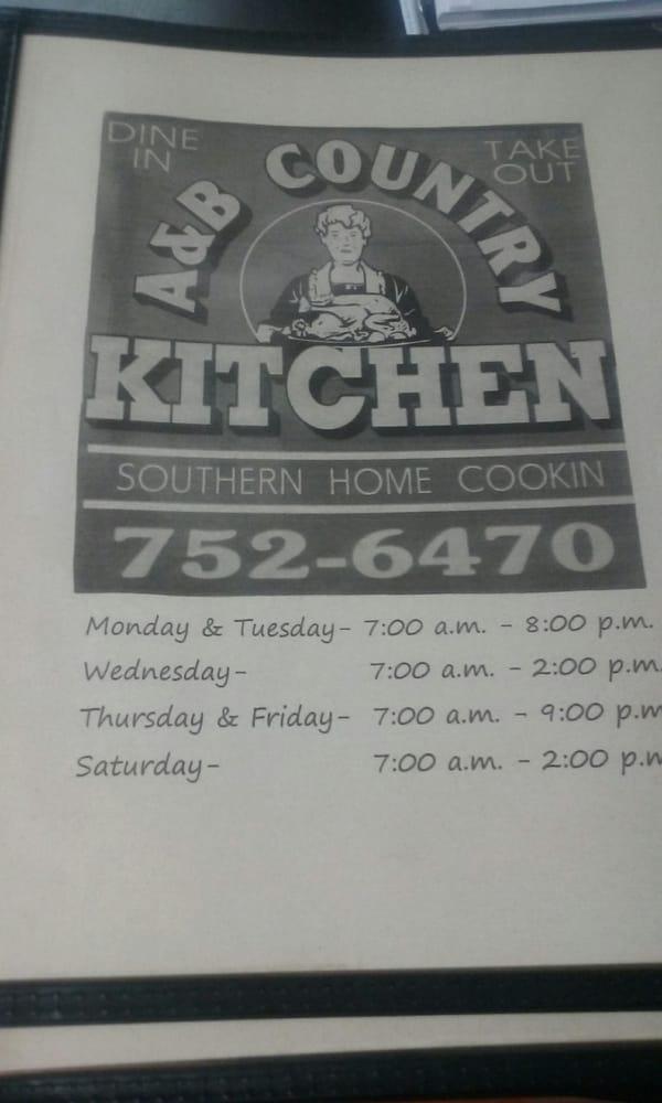 Country Kitchen: 707 Hwy 917 E, Latta, SC