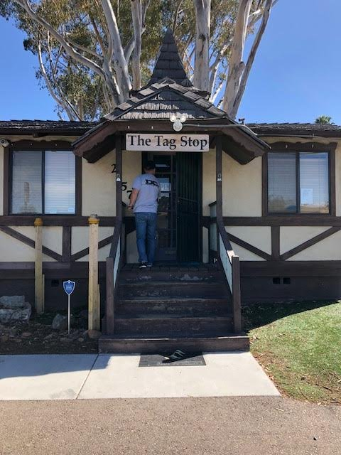 The Tag Stop: 2157 Alpine Blvd, Alpine, CA