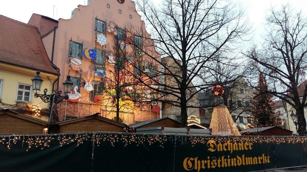 Dachau Weihnachtsmarkt.Christkindlmarkt Dachau Weihnachtsmarkt Konrad Adenauer