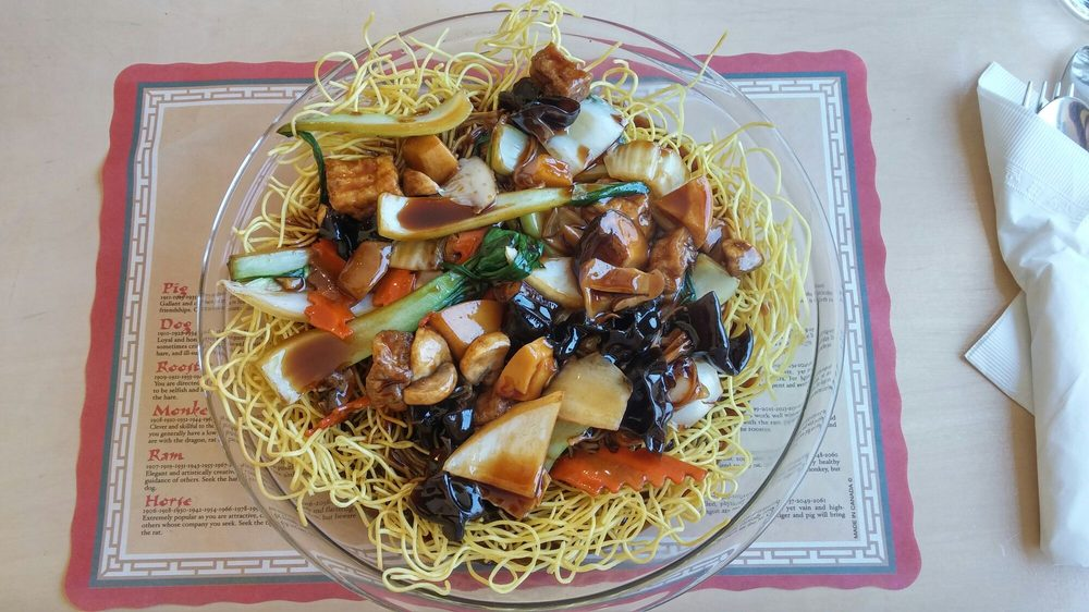 N4 lo han chai chow mein yelp for Garden fresh chinese vegan cuisine