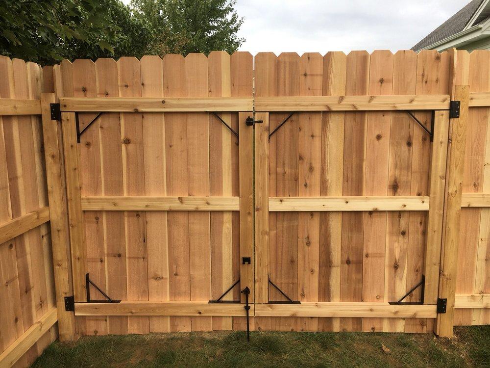 Mudrak's Family Fence Installations: 1509 Serena Ln, Burlington, WI