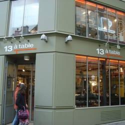 13 table specialiteter marais paris frankrig for 13 a table paris