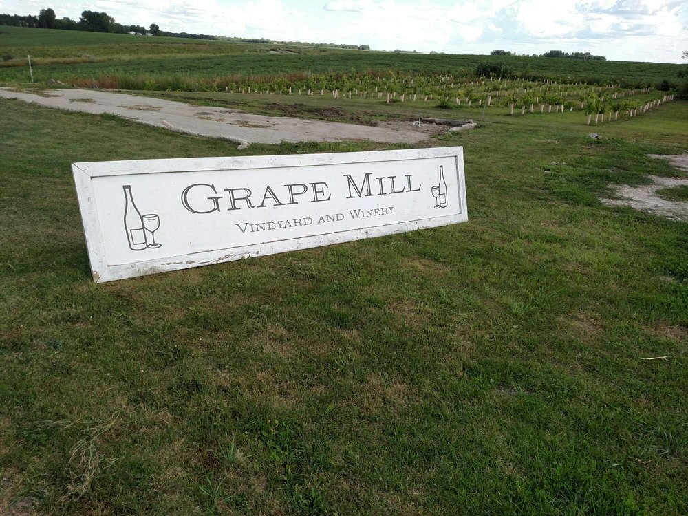 Grape Mill Winery: 18696 430th Ave SW, East Grand Forks, MN