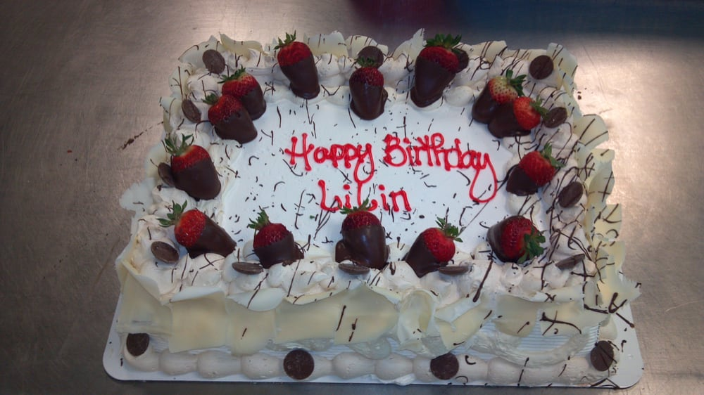 Get a special birthday cake for the special person in your life Yelp