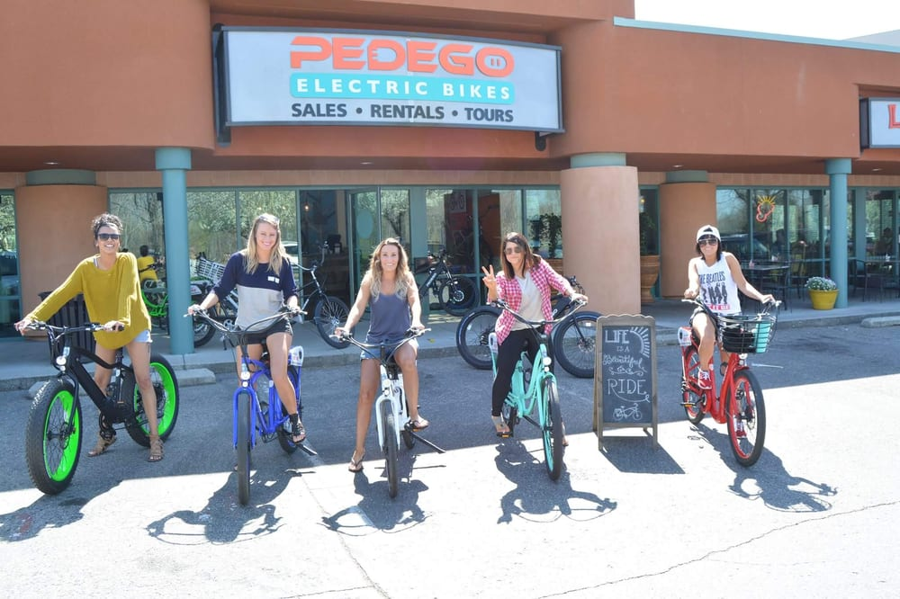 Social Spots from Pedego Electric Bikes Boise