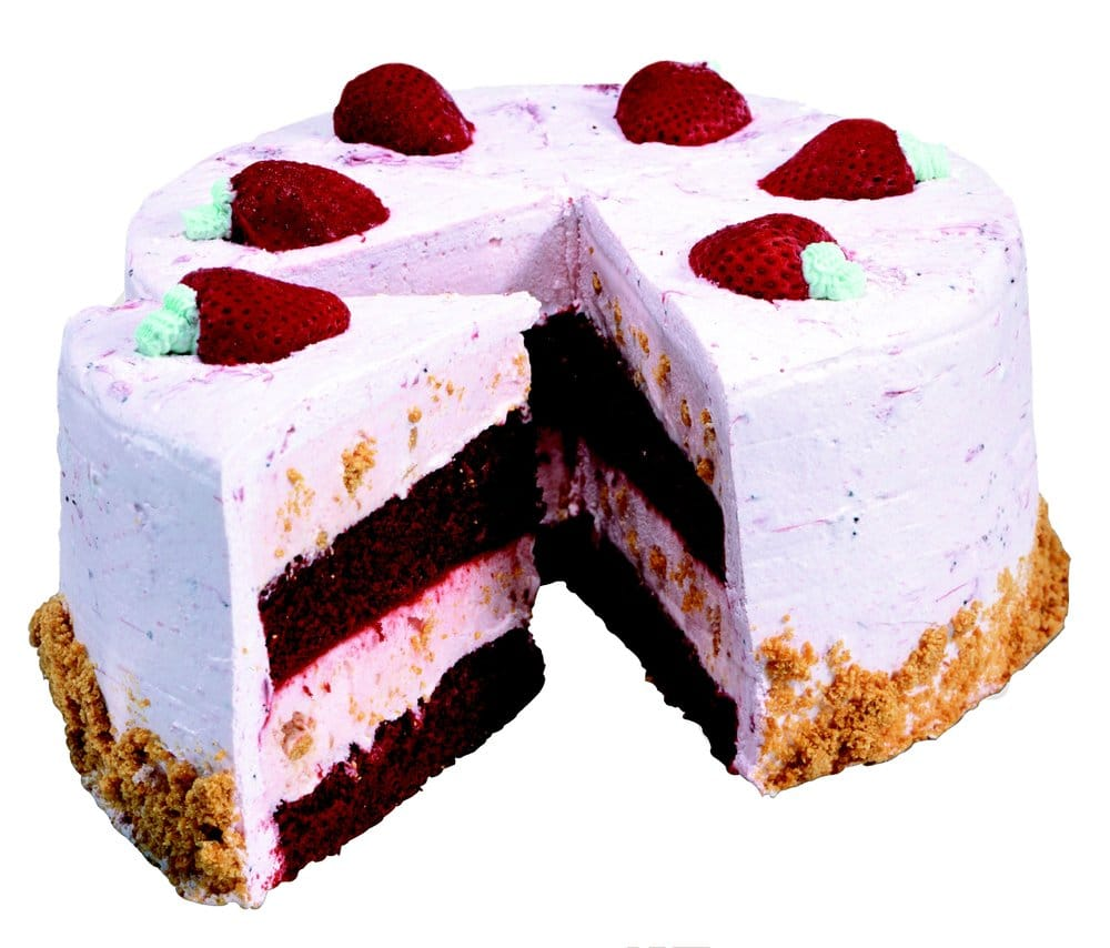 Cold Stone Creamery Strawberry Passion Cake Review