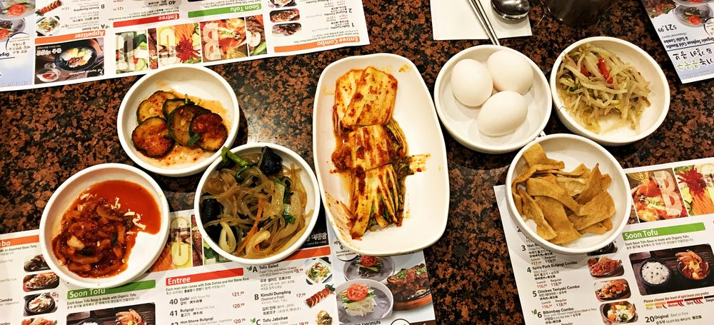 Food from BCD Tofu House
