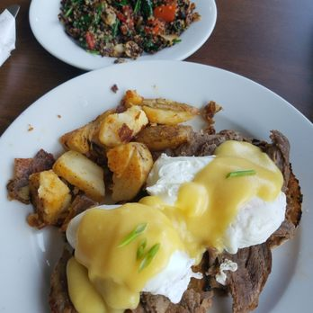 Photo Of Kenny S Restaurant Manchester Ct United States Steak Benedict With A