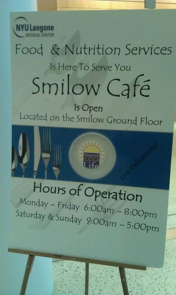 Smilow Cafe at NYU Langone Medical Center - CLOSED - Cafes