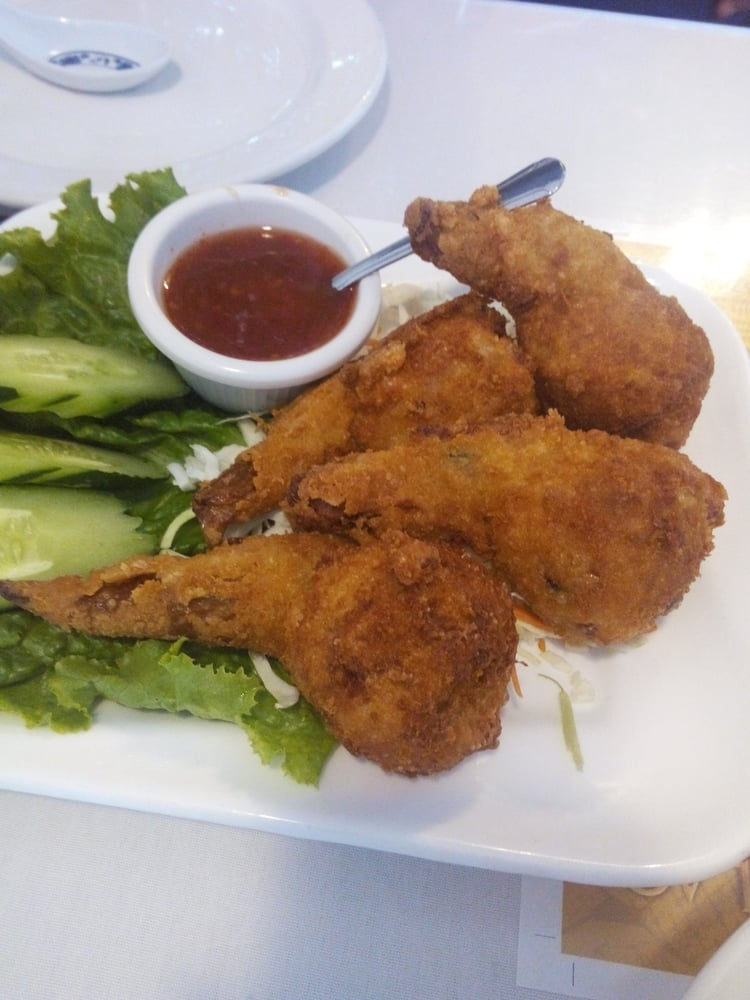 Stuff chicken wings yelp for Ano thai lao cuisine