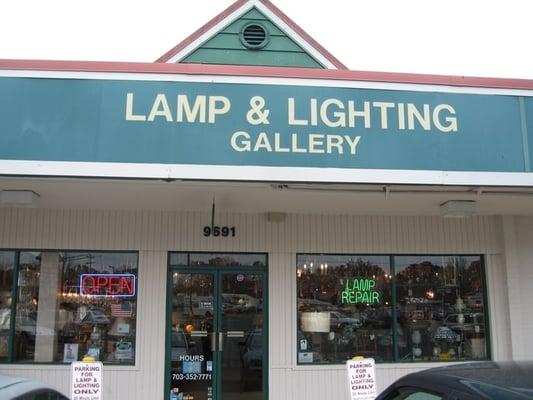 lamp lighting gallery 9691 fairfax blvd fairfax va lighting