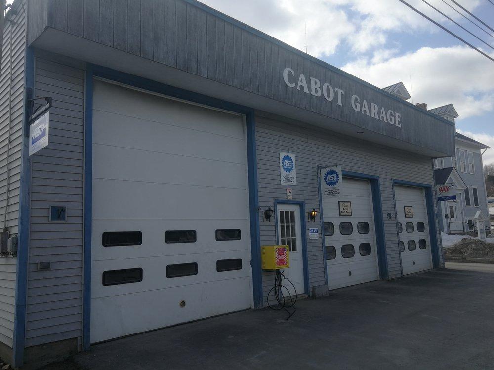 Cabot Garage: 3102 Main St, Cabot, VT