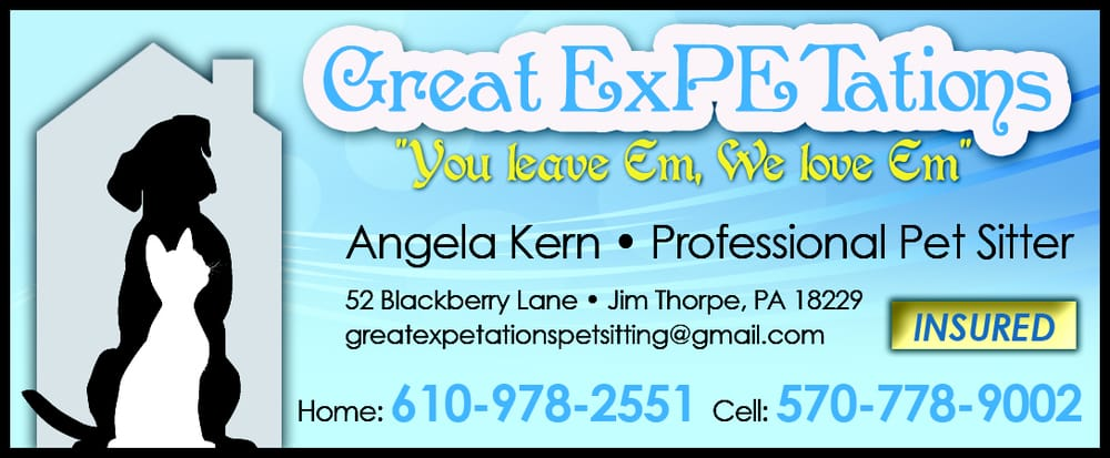 Great exPETations Professional Pet Sitting: 52 Blackberry Ln, Jim Thorpe, PA