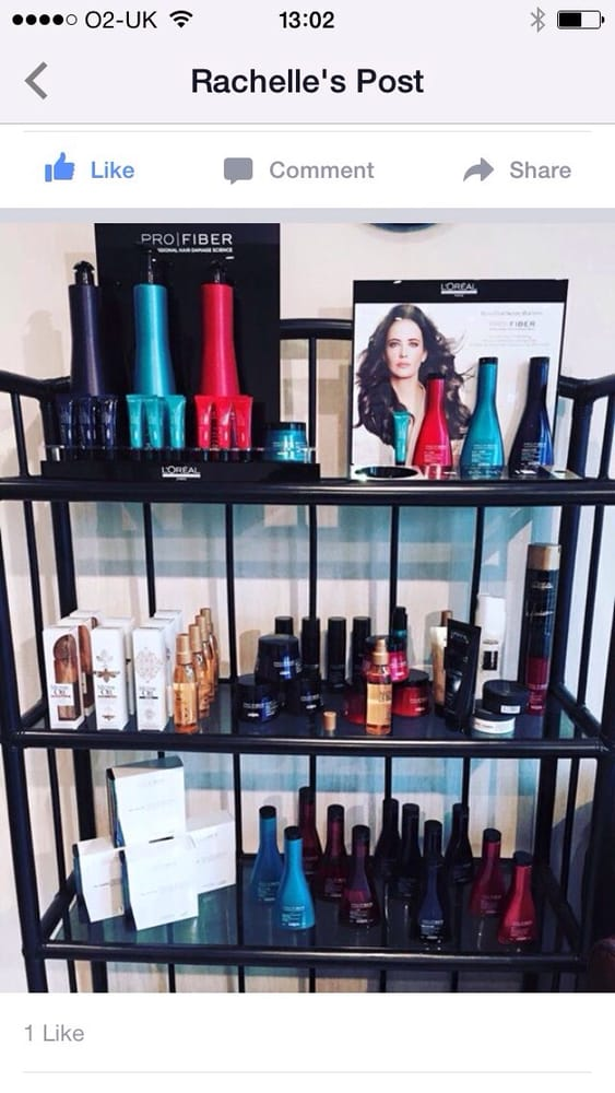 We Are A Loreal Salon With Some New And Exciting This Season On