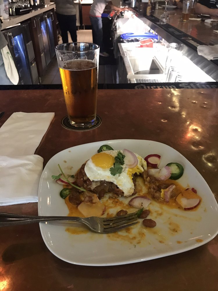 Yum huevos rancheros and a beer for breakfast, nothing more Latin ...