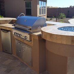 Photo Of Outside Living Concepts   Phoenix, AZ, United States. BBQ With Bar