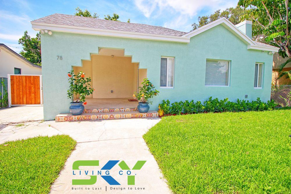 Exterior Remodel Includes Roof Windows Doors Stucco Tile Floor Design Landscaping Etc