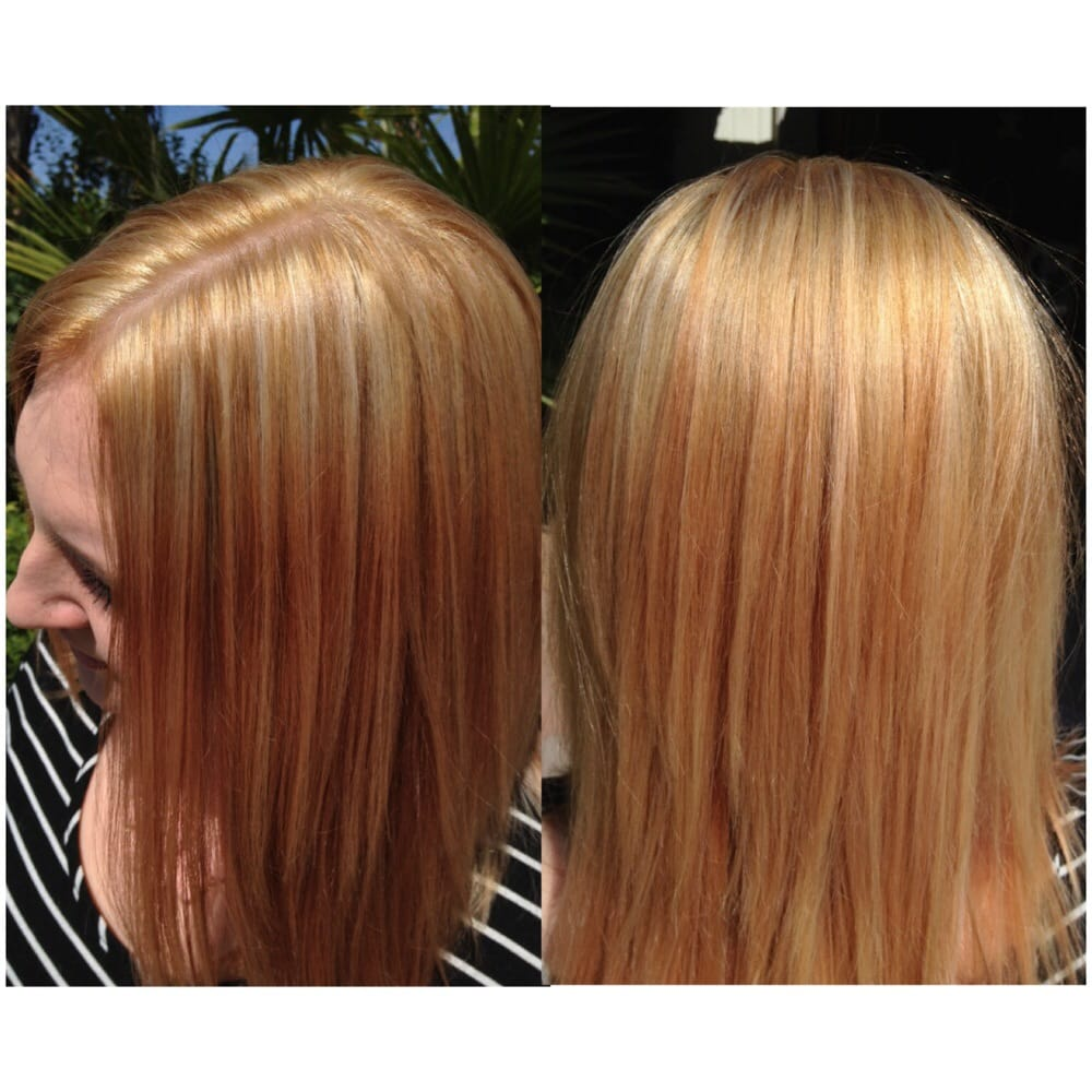 Color Correction She Was Previously Dark Violet Red To Now